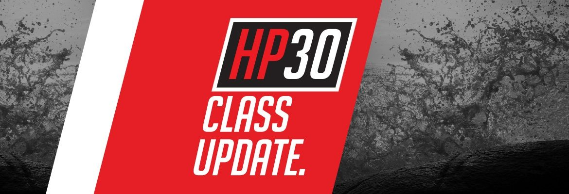 HP30 Class Update - March 2016