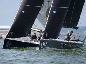 HP30 Class - tight racing at Vice Admirals Cup